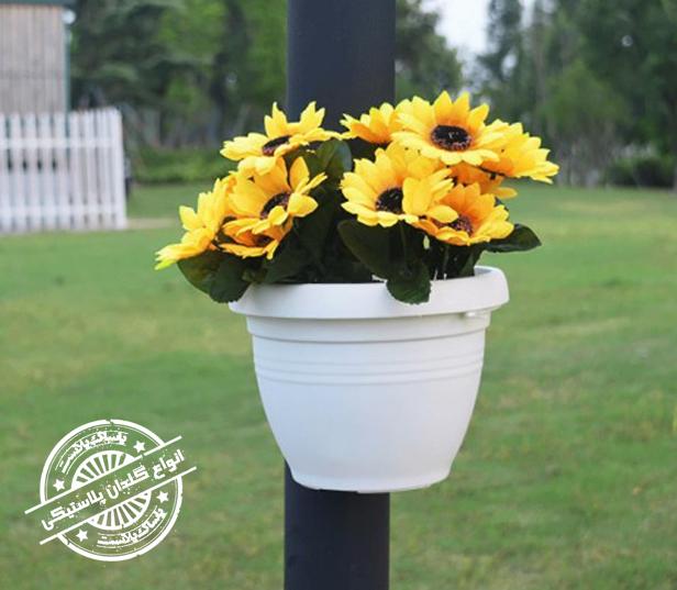 گلدان پلاستیکی باغی
